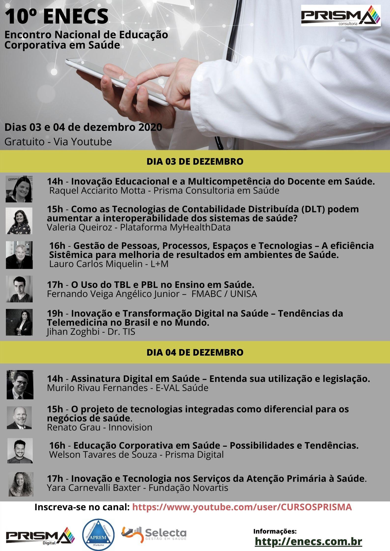 cartaz 10º ENECS